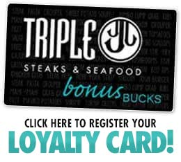 Triple J Steakhouse Loyalty Card